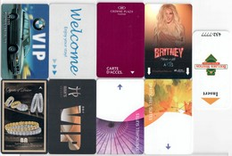 Different Cards----- ---Hotel--key Card, Room Key, Schlusselkarte, Hotelkart - Cartas De Hotels