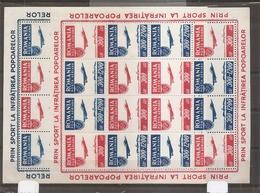 Roumanie ( PA 36/37 En Feuilles XXX -MNH) - Luftpost