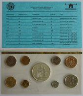 28456g MONNAIE DE PARIS - SERIE FLEURS DE COINS 1977 - Boite D´origine - France