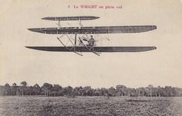 Le Wright En Plein Vol - Avions