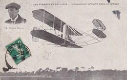 Les Pionniers De L'air - L'Aéroplane Wright Dans Son Virage - Avions
