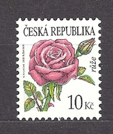 Czech Republic 2008 MNH ** Mi 542 Sc 3365 Flowers Rose. Tschechische Republik. - Czech Republic