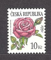Czech Republic 2008 MNH ** Mi 542 Sc 3365 Flowers Rose. Tschechische Republik. - Tschechische Republik