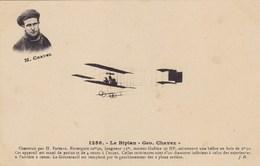 """Le Biplan """"Geo.  Chavez - Construit Par H. Farman - Avions"""