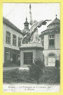 * Dinant (Namur - Namen - La Wallonie) * (G.H. Ed. A., Nr 34) Le Triomphe De La Lumière Par A. Wiertz, Statue, Rare - Dinant