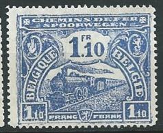 Belgique Chemin De Fer     - Yvert N° 116  (*)  -  Ah 29712 - 1915-1921