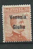Italie  - Vénitie Julienne  - Yvert N°  23 * -  Ah29719 - Venezia Julia