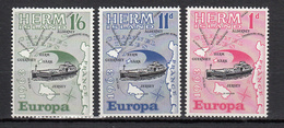 Herm Island  (Guernsey) -1963 - Europa - Unmounted Mint NHM - Guernsey