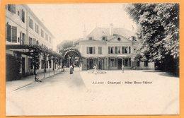 Champel Switzerland 1900 Postcard - GE Geneva