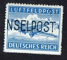Feldpost Inselpost Leros Lokalaufdruck 1945 MiNr. 11B, *** MNH Signed LOW START BID - Occupation 1938-45