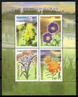 Uzbekistan 2018 / Flowers MNH Blumen Flores Fleurs / Cu12124  41-35 - Vegetales