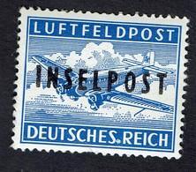 Feldpost Inselpost Rhodos Lokalaufdruck 1945 MiNr. 8A, *** MNH Signed LOW START BID - Occupation 1938-45