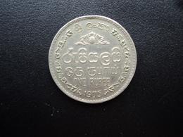 SRI LANKA : 1 RUPEE    1975     KM 136.1      SUP - Sri Lanka