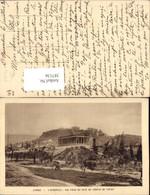 387136,Greece Athenes Athen L'Acropole Vue Prise Du Cote Du Temple De Thesee Tempel A - Griechenland