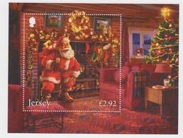 Jersey 2017 -  Father Christmas M/Sheet  - Unmounted Mint NHM - Jersey