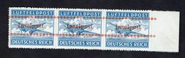Feldpost Inselpost Kreta Lokalaufdruck 1944 MiNr. 7B, *** MNH Signed LOW START BID - Occupation 1938-45