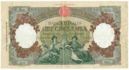 5000 LIRE CAPRANESI REPUBBLICHE MARINARE SERIE SOSTITUTIVA MEDUSA 07/01/1963 BB+ - [ 2] 1946-… : République