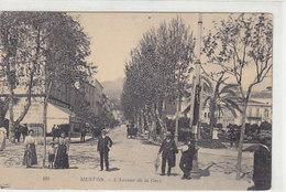 Menton - L'Avenue De La Gare       (A-95-160109) - Menton