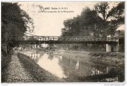 35. Redon. Le Pont Suspendu De La Gicquelais - Redon