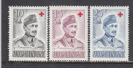 Finland 1952 - Red Cross, Mi-Nr. 407/09, MNH** - Finland
