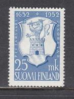 Finland 1952 - 300 Jahre Stadt Pietarsaaris, Mi-Nr. 410, MNH** - Finland
