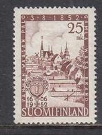 Finland 1952 - Das Alte Stadt Vaasa, Mi-Nr. 411, MNH** - Finland