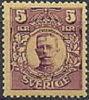 ZWEDEN 1910-14 5kr Roodbruin Gustav  V WM Kroon PF-MNH-NEUF - Schweden