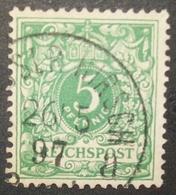 N°1281 TIMBRE DEUTSCHES OBLITERE - Duitsland