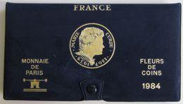 28461g MONNAIE DE PARIS - SERIE FLEURS DE COINS 1984 - Boite D´origine - France