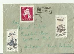 POLEN R CV 1958 - Covers & Documents