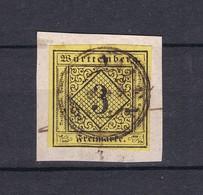 Wuerttemberg - 1851/52 - Michel Nr. 2 - Wuerttemberg