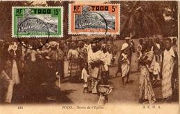 TOGO SORTIE DE L'EGLISE - Togo