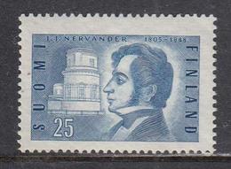 Finland 1955 - Johan Nervander, Mi-Nr. 437, MNH** - Finland