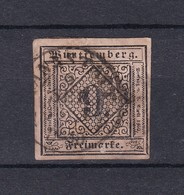 Wuerttemberg - 1851/52 - Michel Nr. 4 - Wurttemberg