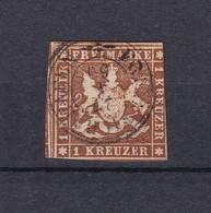 Wuerttemberg - 1857 - Michel Nr. 6 - 100 Euro - Wurttemberg