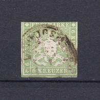 Wuerttemberg - 1857 - Michel Nr. 8 - 75 Euro - Wurttemberg
