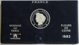 28463g MONNAIE DE PARIS - SERIE FLEURS DE COINS 1983 - Boite D´origine - Z. FDC