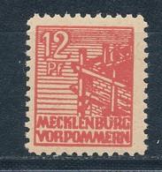 SBZ 36 Y E ** Geprüft Kramp Mi. 9,- - Zona Sovietica