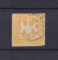 Wuerttemberg - 1859 - Michel Nr. 12 B - Wuerttemberg