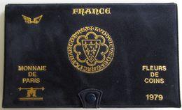 28464g MONNAIE DE PARIS - SERIE FLEURS DE COINS 1979 - Boite D'origine - France