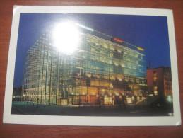 Finland. Helsinki. Sanomatalo. Sanoma House. Giant-size Card. Signed But Not Postally Used. - Finland