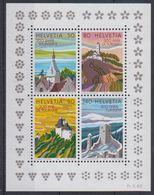Switzerland 1987 Tourism M/s ** Mnh (43460) - Blokken