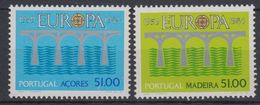 Europa Cept 1984 Azores & Madeira 2x1v ** Mnh (43461) - 1984