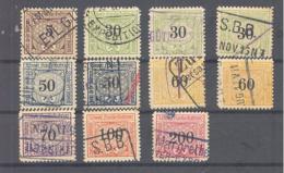 Schweiz / Helvetia  1930  Nr 1 : 11 - Chemins De Fer