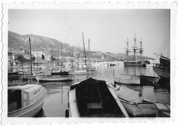 PHOTO - Port - Bateaux, Voilier - Ft 8,5 X 6 Cm - Photos