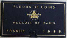 28467g MONNAIE DE PARIS - SERIE FLEURS DE COINS 1985 - Boite D´origine - France