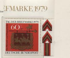 PIA - GERMANIA - 1979 : Giornata Del Francobollo  -  (Yv 869) - Giornata Del Francobollo
