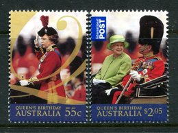 Australia 2009 Queen Elizabeth II's Birthday Set MNH (SG 3185-3186) - 2000-09 Elizabeth II
