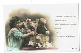CPA - Carte Postale-Belgique Faire Part De Naissance-1906-VM4510 - Evénements