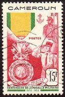 Détail De La Série. Médaille Militaire Obl. Cameroun N° 296 - 1952 Centenaire De La Médaille Militaire